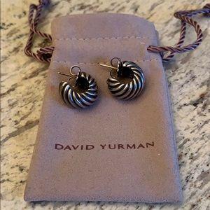 David Yurman Cable Classics Shrimp Earrings